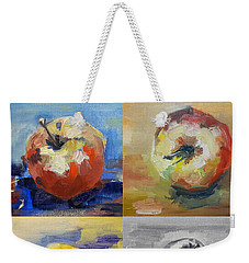 Four Apples A Day Weekender Tote Bag