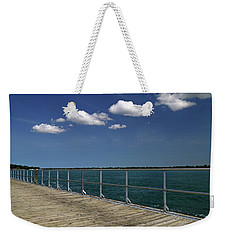 Four Clouds Over The Boardwalk Weekender Tote Bag