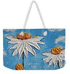 Four Daisies Weekender Tote Bag