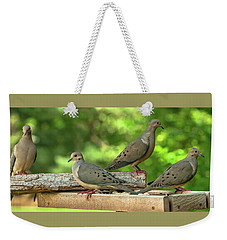 Four Doves In Search Of A Theme Weekender Tote Bag