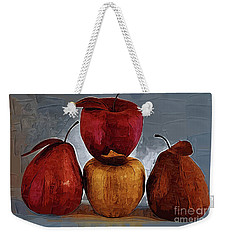 Four Fruits Weekender Tote Bag by Kirt Tisdale