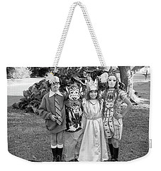 Four Girls In Halloween Costumes, 1971, Part One Weekender Tote Bag
