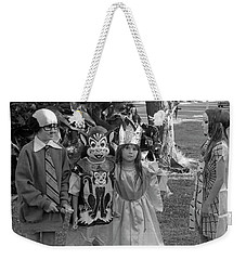 Four Girls In Halloween Costumes, 1971, Part Two Weekender Tote Bag