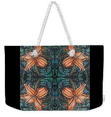 Four Lilies Leaf To Leaf Weekender Tote Bag