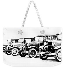 Four Model A's Weekender Tote Bag by Steve McKinzie