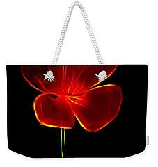 Four Petals Weekender Tote Bag by Steven Parker