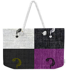 Four Question Marks Weekender Tote Bag