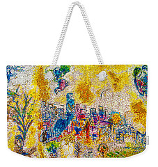 Four Seasons Chagall Weekender Tote Bag