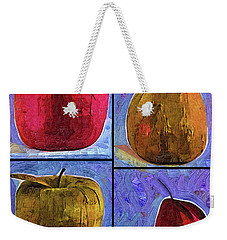 Four Square Fruit Weekender Tote Bag by Kirt Tisdale