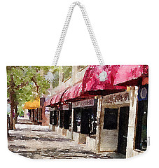 Fourth Avenue Weekender Tote Bag