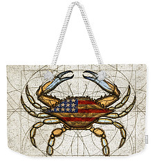 Fourth Of July Crab Weekender Tote Bag