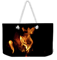 Fox Fire Weekender Tote Bag