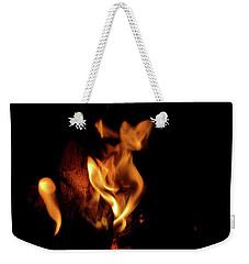 Fox Fire Weekender Tote Bag