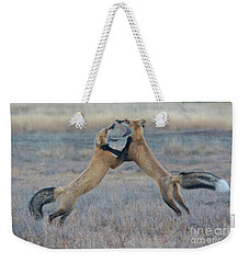 Fox Fury Weekender Tote Bag