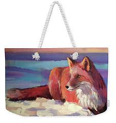 Fox II Weekender Tote Bag