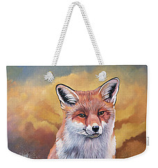 Fox Knows Weekender Tote Bag