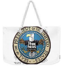 Fox News Presidential Seal Weekender Tote Bag