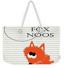 Fox Noos Weekender Tote Bag