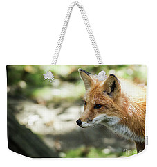 Weekender Tote Bag featuring the photograph Fox Profile by Lisa L Silva