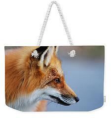 Fox Profile Weekender Tote Bag