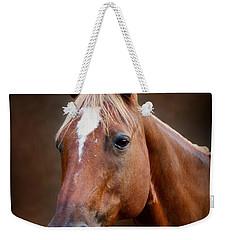Fox - Quarter Horse Weekender Tote Bag by Sandy Keeton
