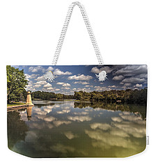 Fox River Lighthouse Geneva Illinois Weekender Tote Bag