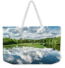 Fox River Weekender Tote Bag by Randy Scherkenbach