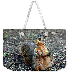 Fox Squirrel Breakfast Weekender Tote Bag