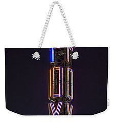 Weekender Tote Bag featuring the photograph Fox Theatre Detroit by Nicholas  Grunas