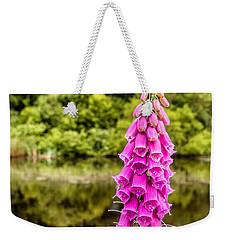 Foxglove In Flower Weekender Tote Bag