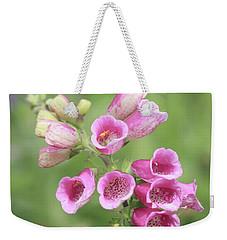 Foxgloves  Weekender Tote Bag