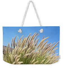 Foxtails On A Hill Weekender Tote Bag
