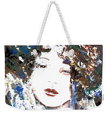 Beautiful Woman  Weekender Tote Bag by Annie Zeno