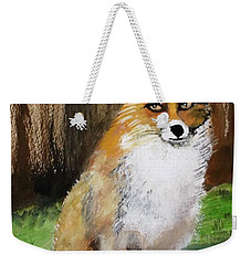 Foxy Lady Weekender Tote Bag by Carole Robins