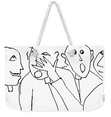 Fr. Tubbs Had Wanted To Backhand Fr. Dick For So Long Weekender Tote Bag