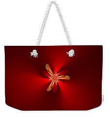 Fractal 5 Weekender Tote Bag