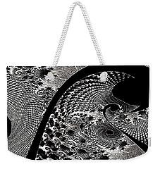Fractal Japonica Weekender Tote Bag