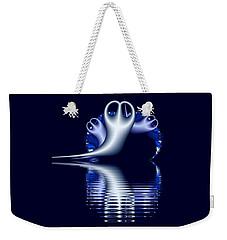 Fractal Peeble Ghosts Weekender Tote Bag