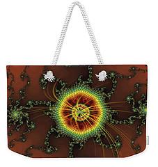 Fractal Swirls Weekender Tote Bag