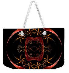 Fractal Symmetry Weekender Tote Bag