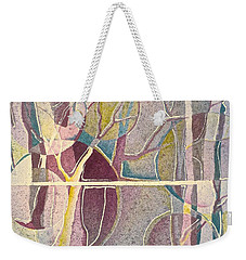 Fractured Weekender Tote Bag