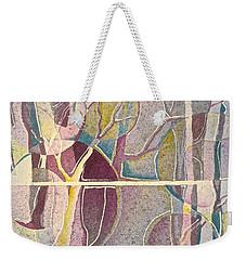 Fractured Weekender Tote Bag by Carolyn Rosenberger
