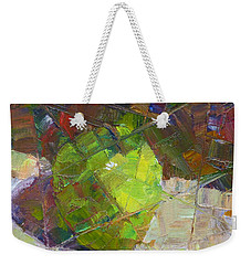 Fractured Granny Smith Weekender Tote Bag