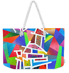Fractured Instrument Of Love Weekender Tote Bag