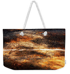 Weekender Tote Bag featuring the photograph Fractured by Ryan Manuel