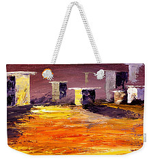 Fragile Structures Weekender Tote Bag