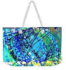 Fragmentalize  Weekender Tote Bag by Shawna Rowe