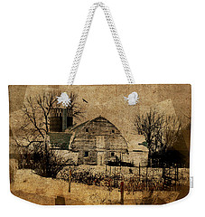 Fragmented Barn  Weekender Tote Bag