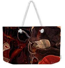 Fragments Of Memory Weekender Tote Bag by Kathie Chicoine