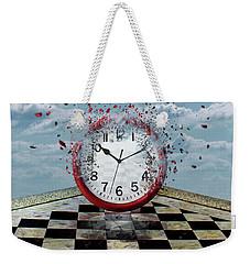 Fragments Of Time Weekender Tote Bag